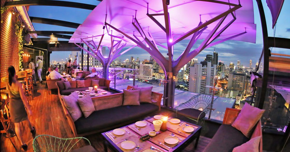 Above Eleven Rooftop Bar on Sukhumvit 11