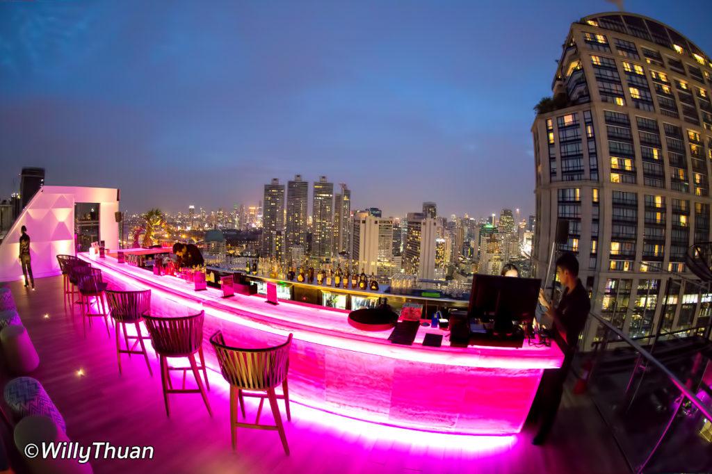 Mojito Rooftop Bar Bangkok
