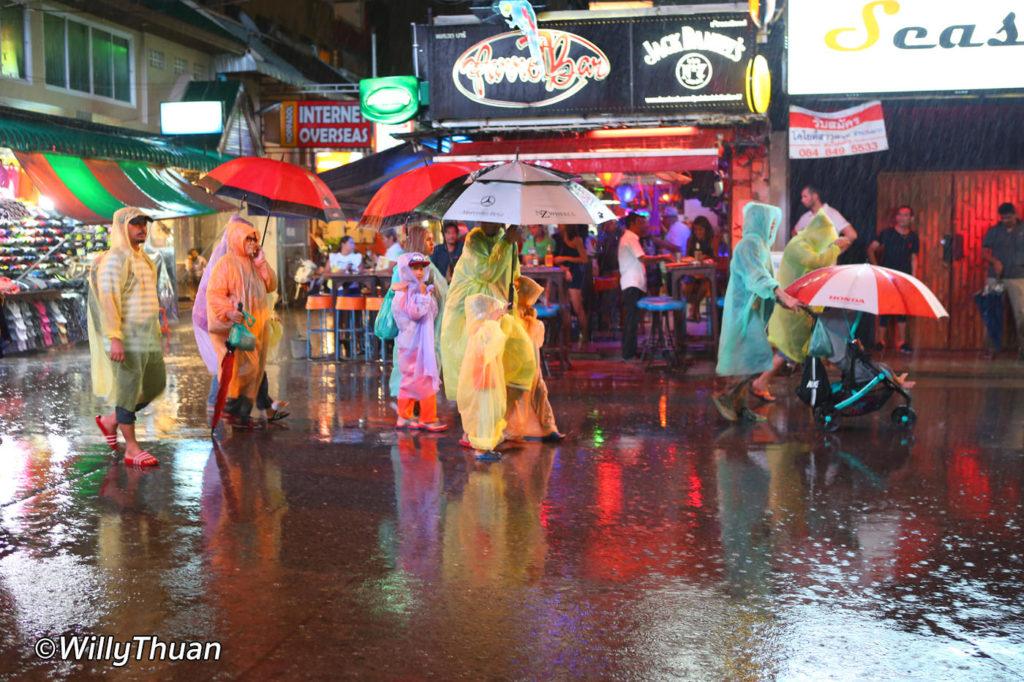 Raincoats in Phuket