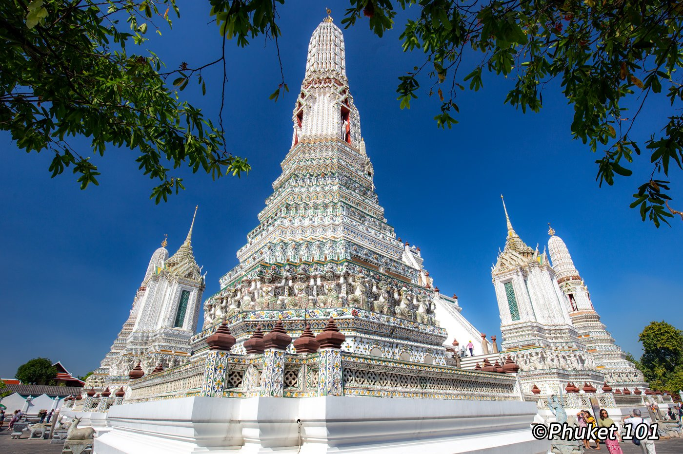 Wat Arun, The Temple of Dawn in Bangkok