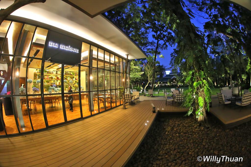 Ma Maison restaurant at Nai Lert Park Bangkok