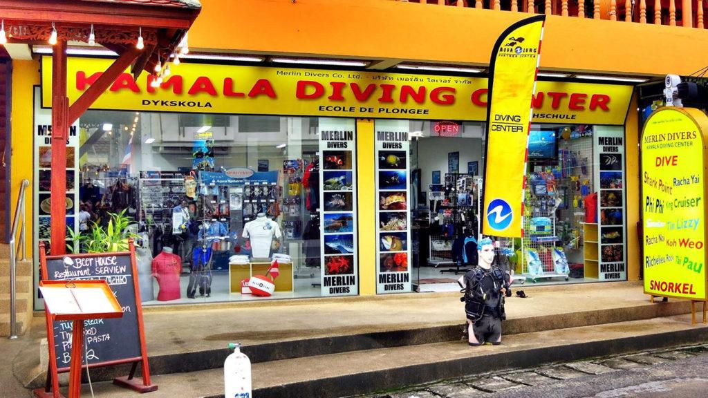 Merlin Diver in Kamala Beach