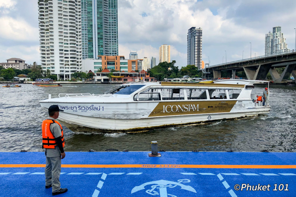 ICONSIAM shuttle boat