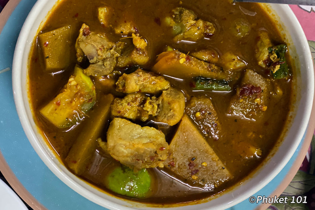 Gaeng Tai Pla – fermented fish belly curry
