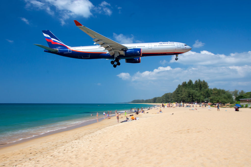 Where to See Planes Landing in Phuket?