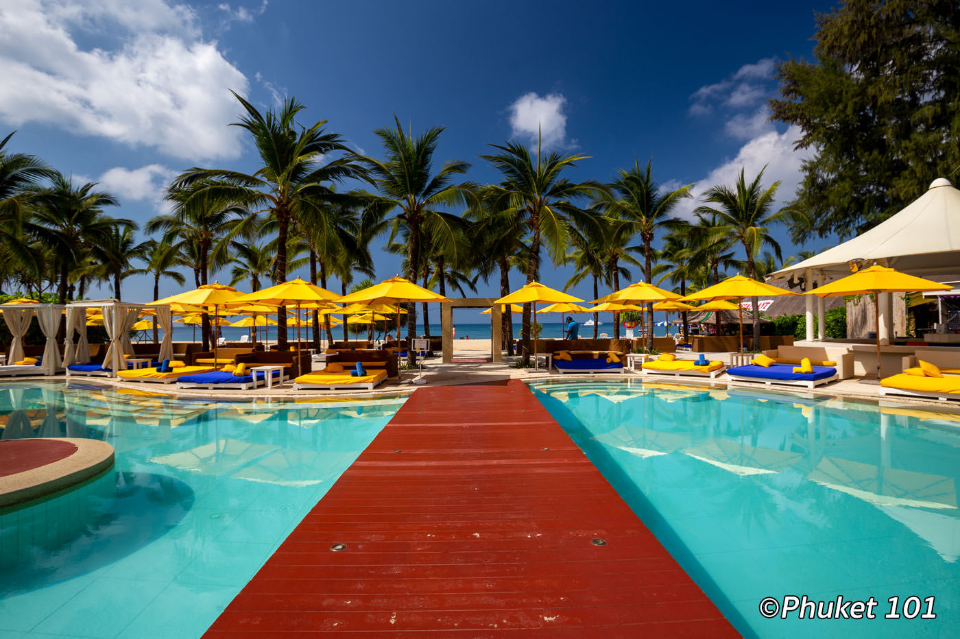 Dream Beach Club on Layan Beach in Phuket