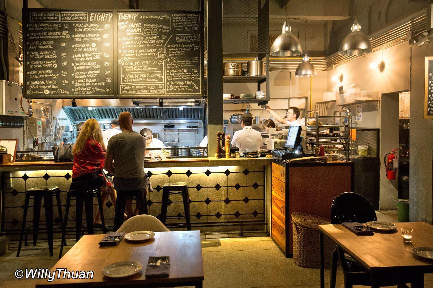 80/20 Eighty Twenty Restaurant Bangkok