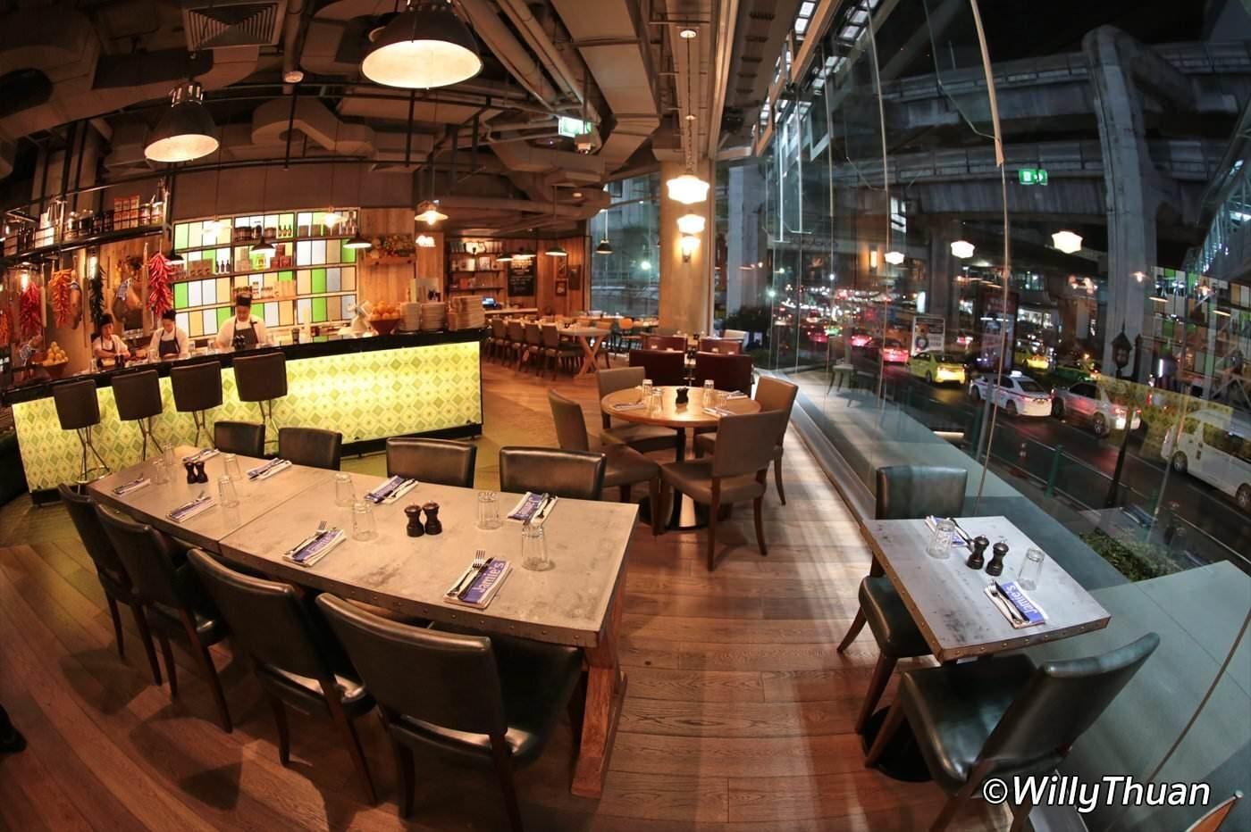 Jamie Oliver Restaurant Bangkok