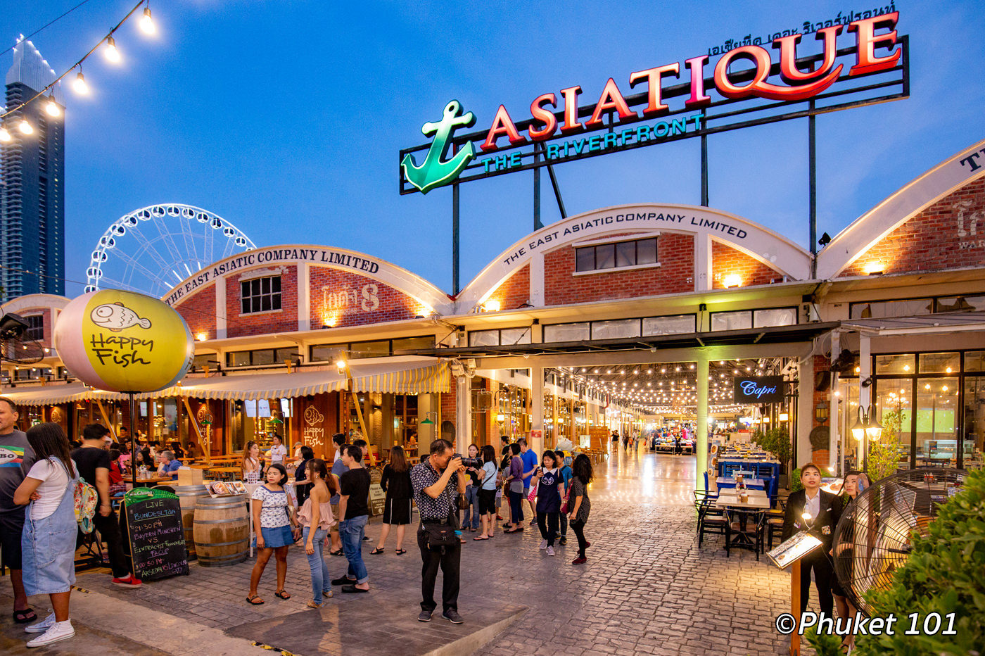 Asiatique the Riverfront Bangkok