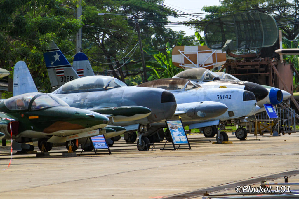 Royal Thai Air Force Museum in Bangkok