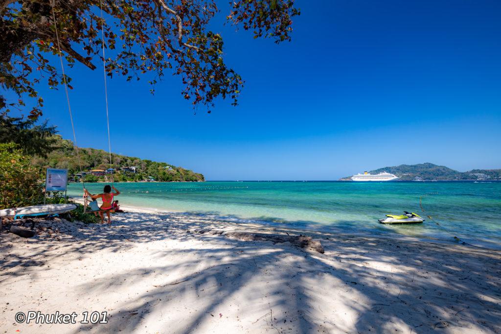 Tri Trang beach northern end