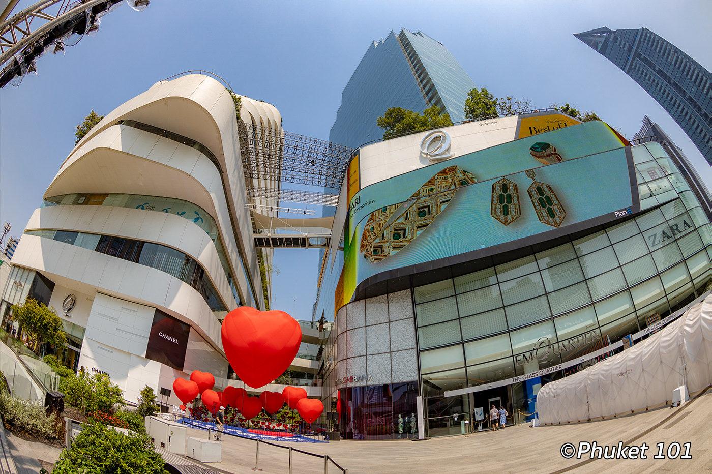 EmQuartier Shopping Mall Bangkok