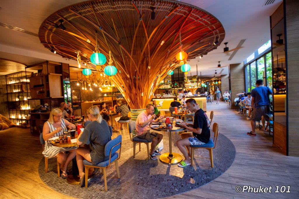 Breakfast at Butcher's Garden - Indigo Hotel Phuket