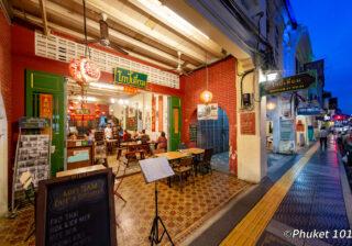 Thalang Road in old Phuket Town