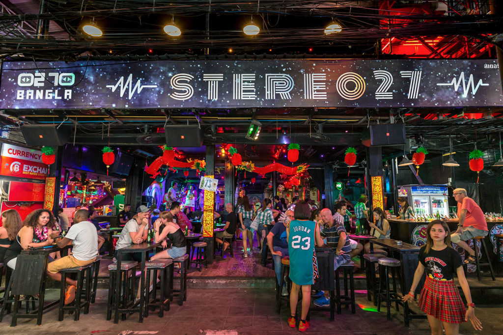 Stereo 27 live music patong beach