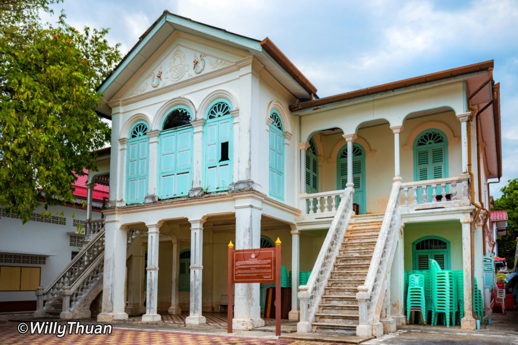 Old Mansion at Wat Mongkol Nimit