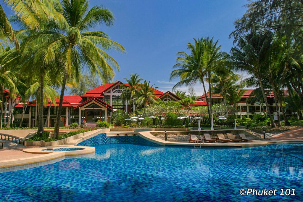 Dusit Thani Laguna Phuket Resort on Bang Tao Beach
