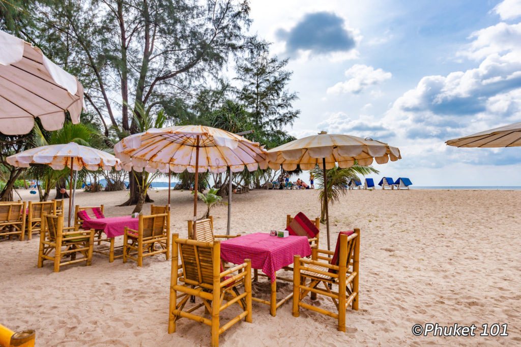 Tony's Restaurant on Layan Beach