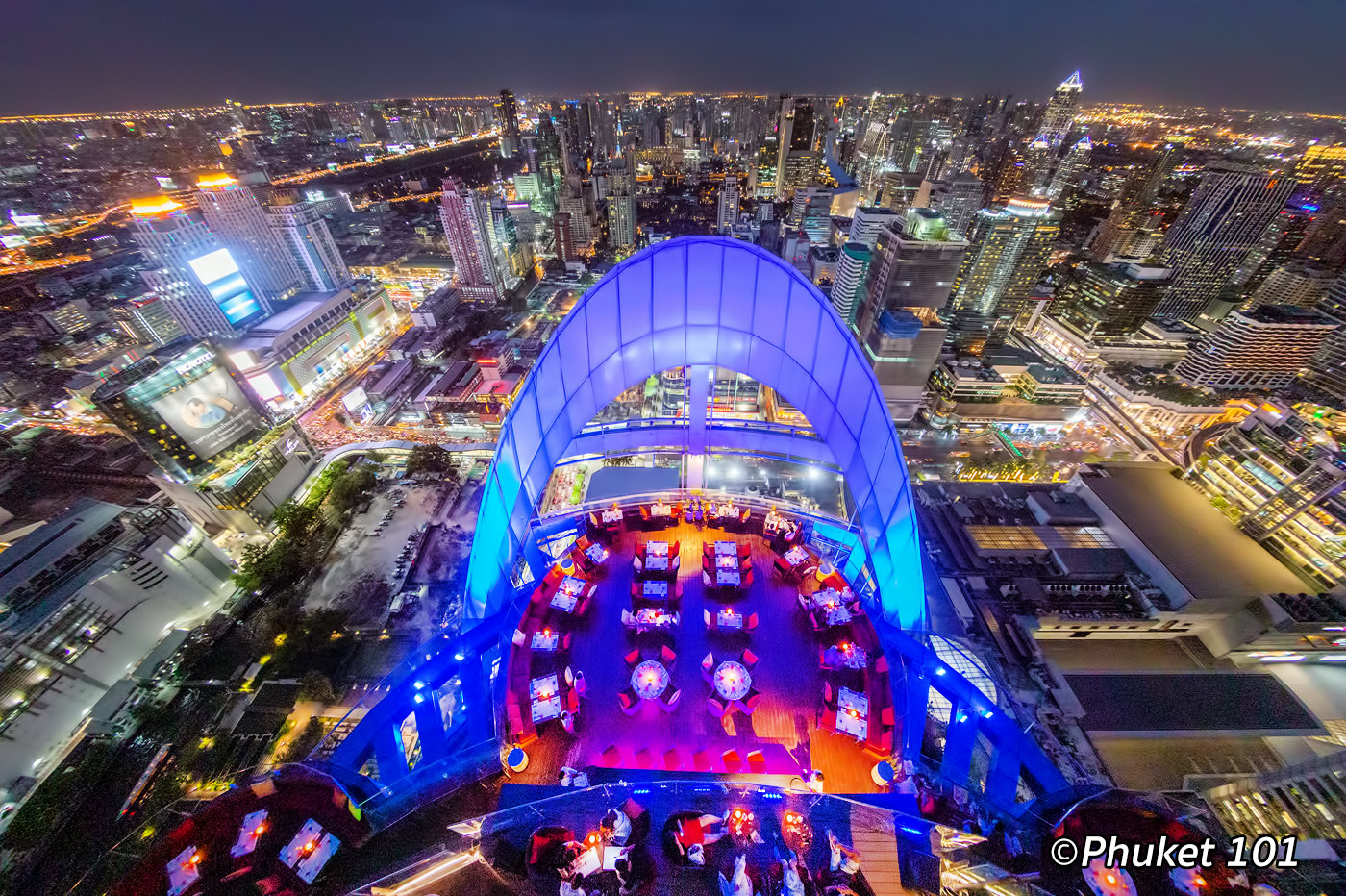 Best Rooftop Bars in Bangkok