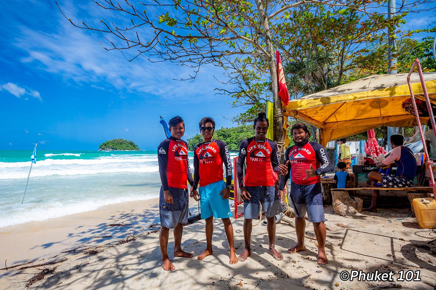 Safety on Kata Beach