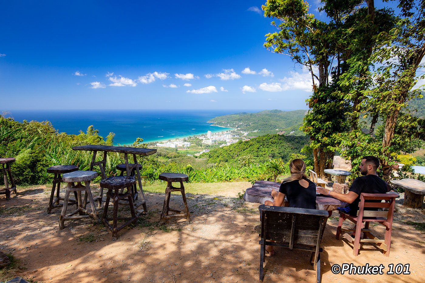 Nakkerd Seaview Cafe at Big Buddha Phuket