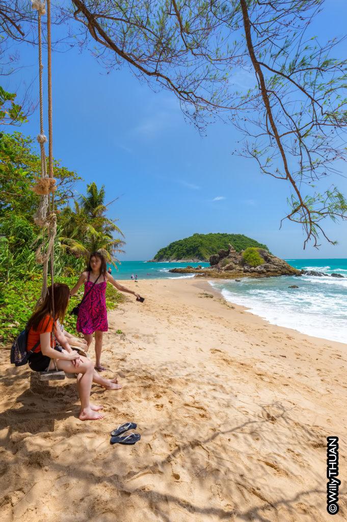 Yanui Beach in south Phuket