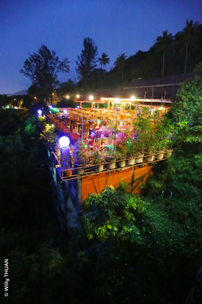 Baan Chom View restaurant in Phuket