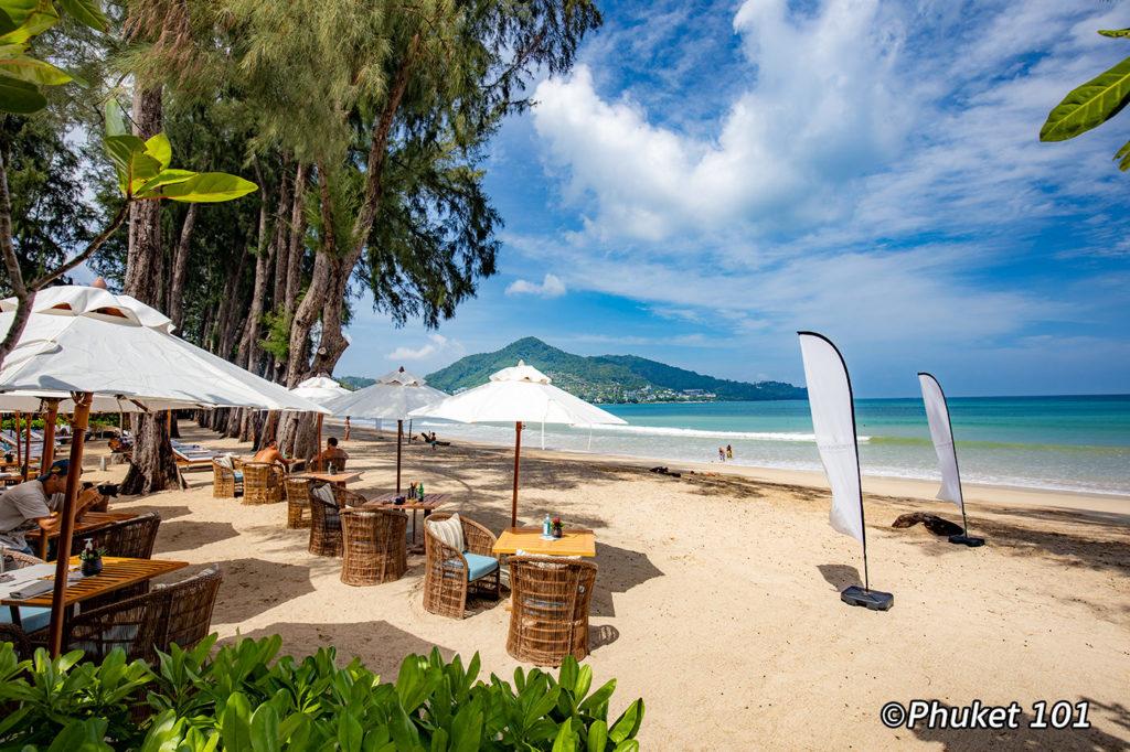 Pine Beach Club on Kamala Beach