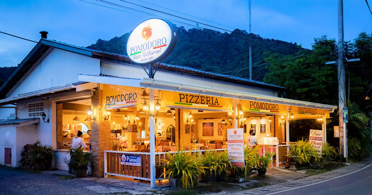 Pomodoro Italian Restaurant in Kata Beach