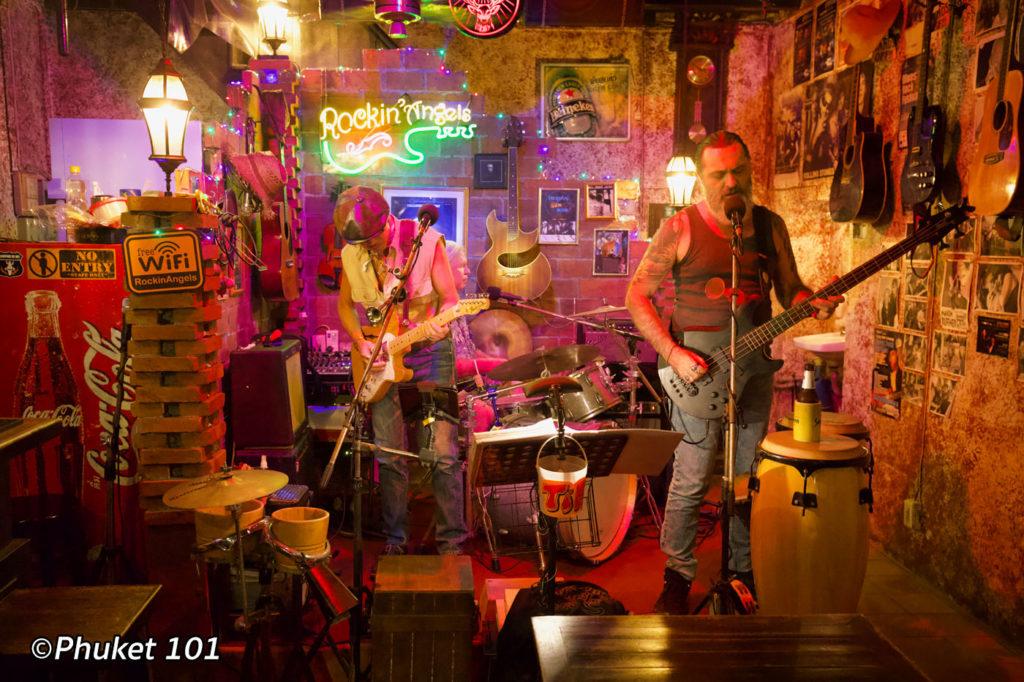 Rockin Angels Music Bar Phuket