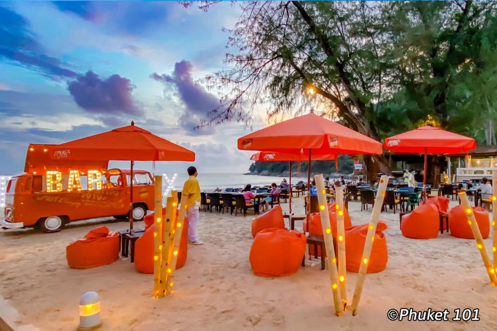 Relax Beach Bar at Le Meridien Phuket