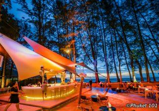HQ Beach Club on Kamala Beach in Phuket