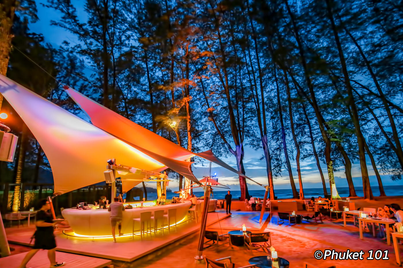 HQ Beach Club on Kamala Beach in Phuket