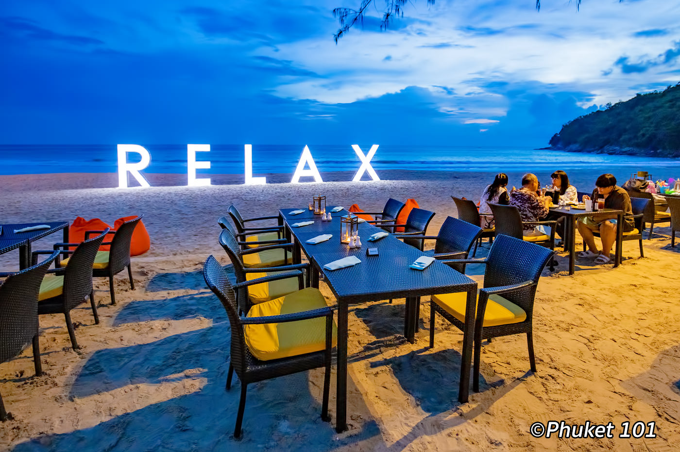 Relax Beach Club at Le Meridien Phuket