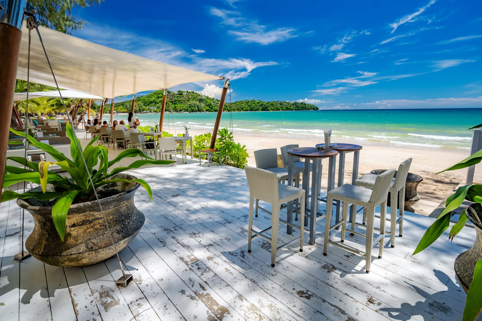 Catch Beach Club Phuket on Bang Tao Beach