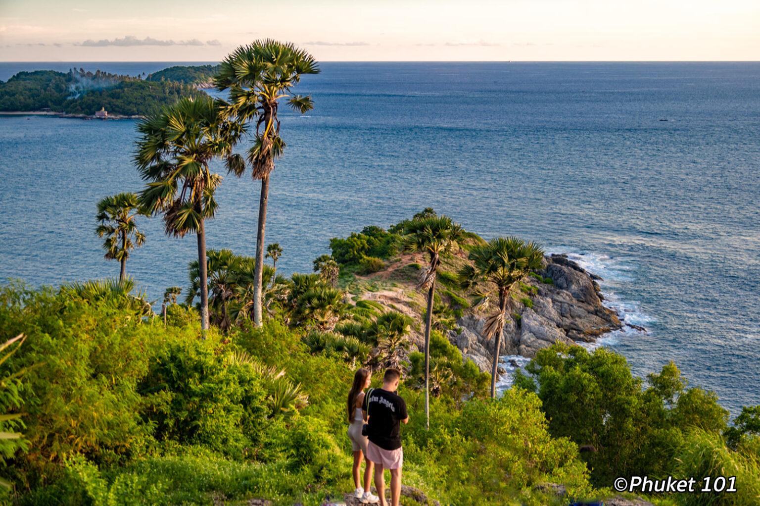 Promthep Cape in the south of Phuket