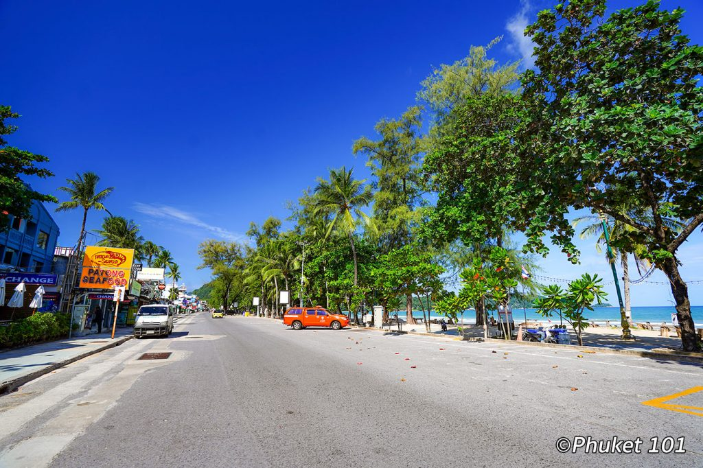 Patong Bech during COVID 19