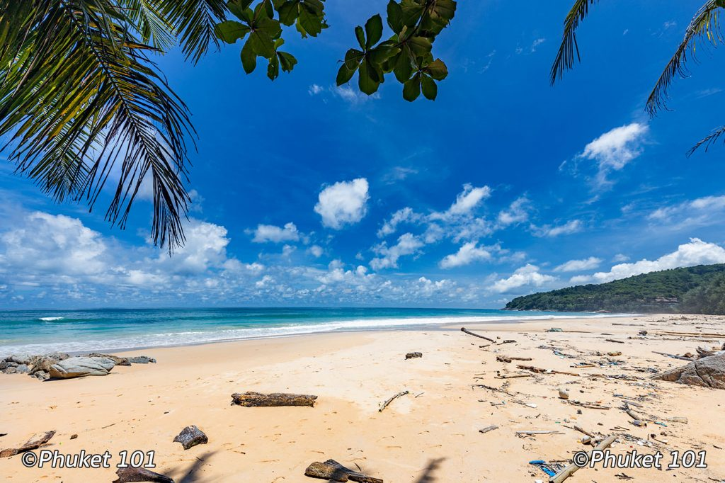 Neglected beach in Phuket during COVID 19
