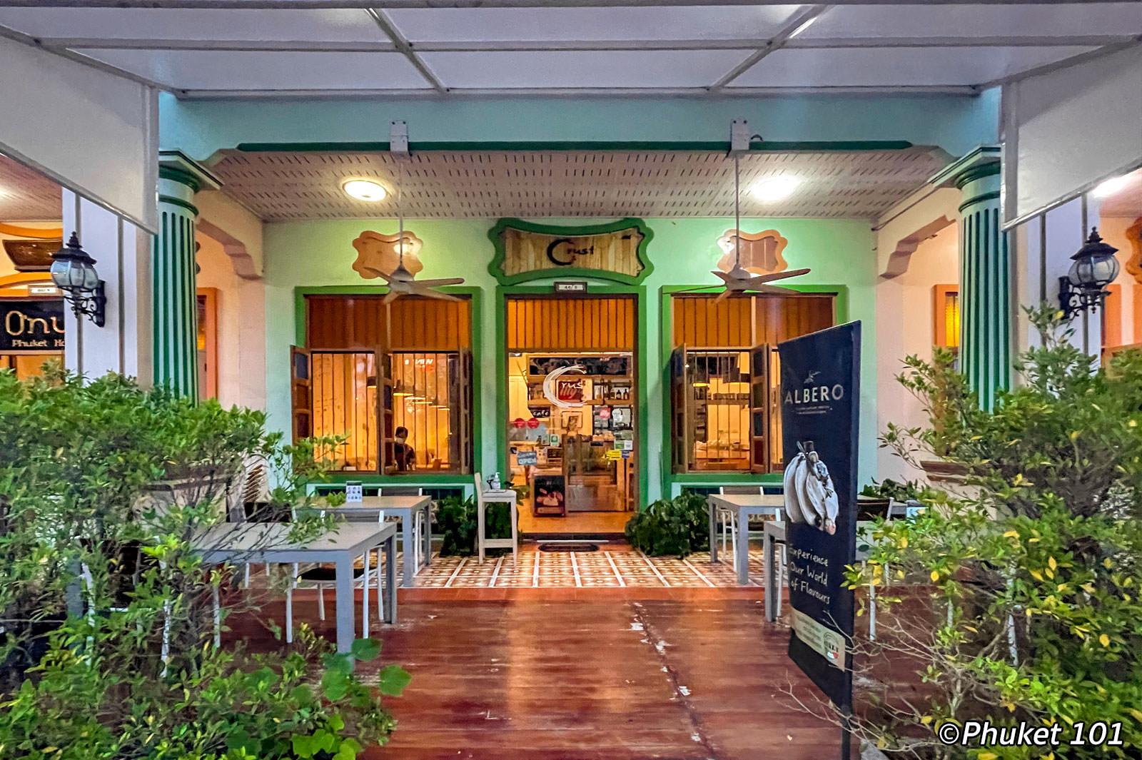 Crust Cafe & Restaurant - Italian Restaurant in Phuket Town