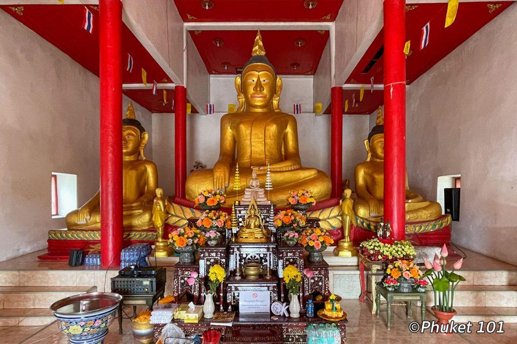 Wat Phra Nang Sang Temple in Thalang