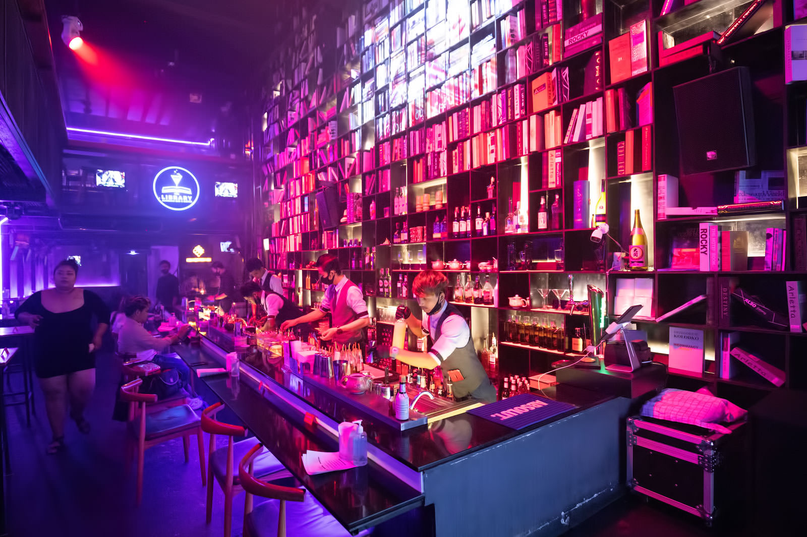 The Library Phuket - Alchemic Bar & Bistro in Old Phuket Town