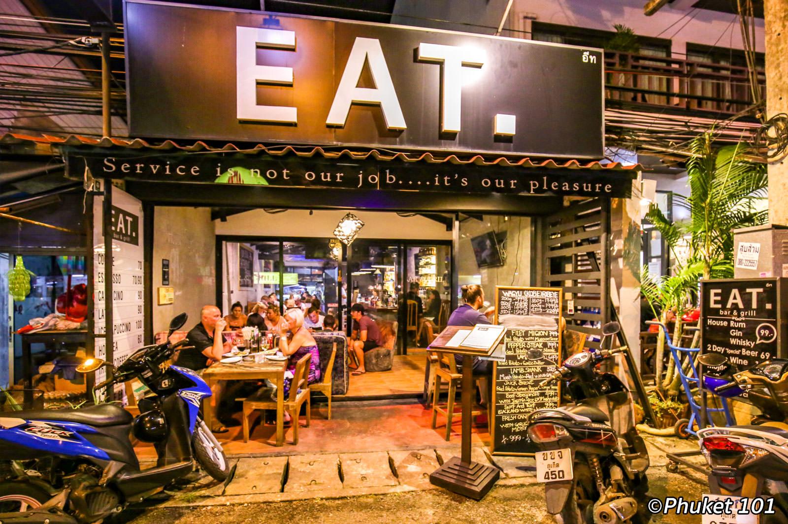 Eat Bar & Grill Phuket Restaurant Karon