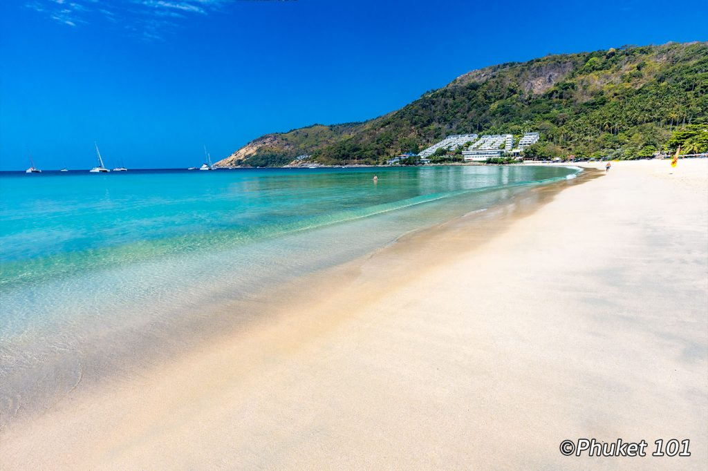 Naiharn Beach in south Phuket