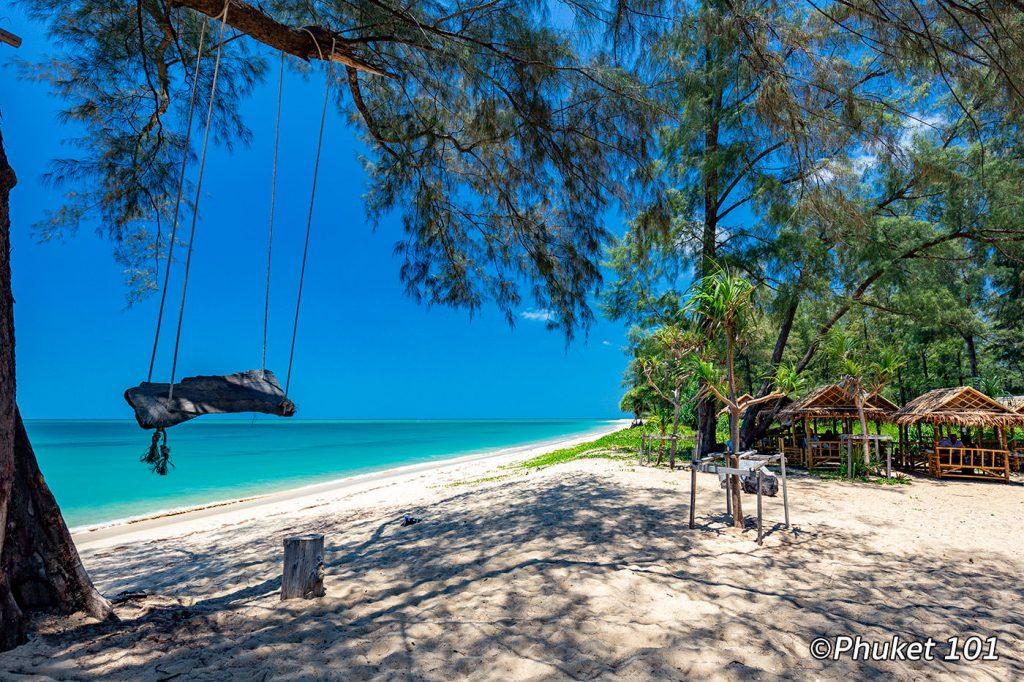 Haad Sai Kaew Beach in North Phuket