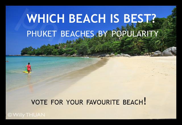Phuket Best Beaches – Which Phuket Beach is Best? by readers popularity