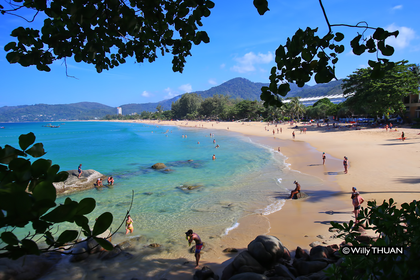 Karon Beach, the third most popular beach in Phuket