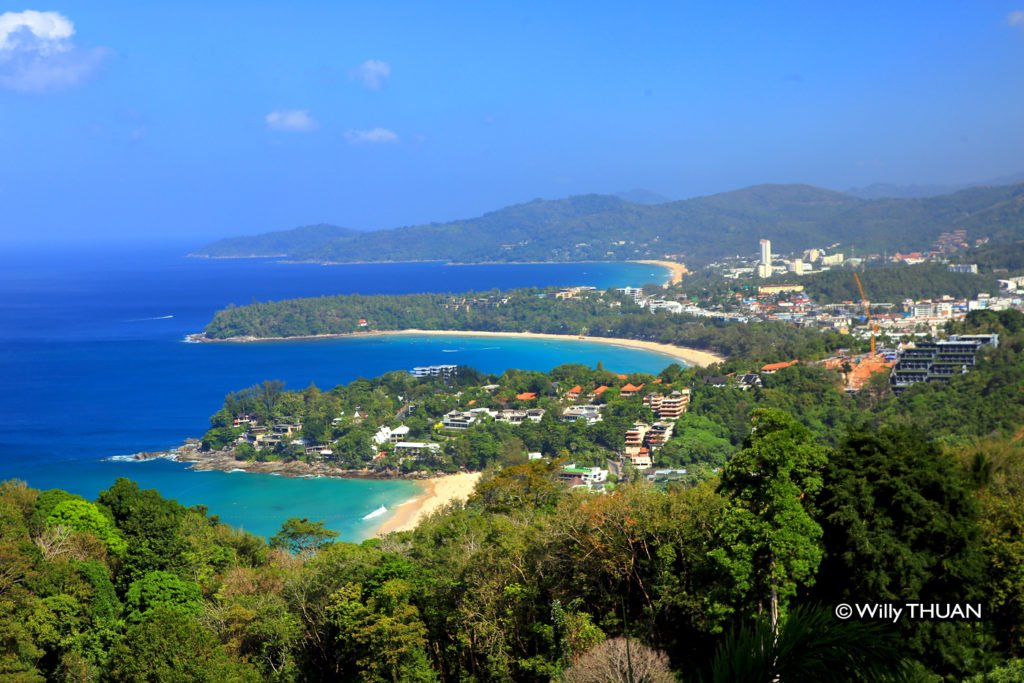 Kata Beach seem from Viewpoint