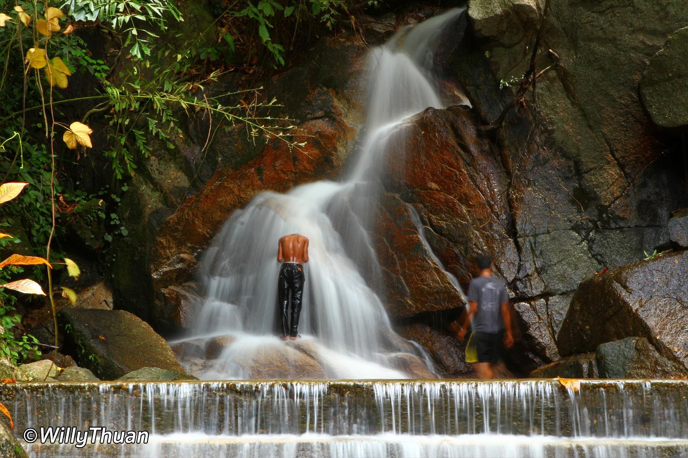 Kathu Waterfall in Phuket