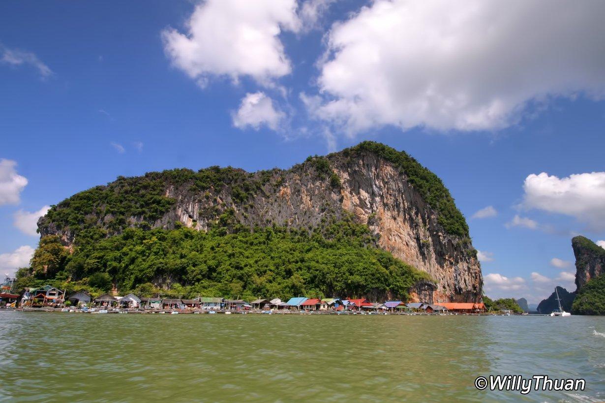 Koh Panyi (Koh Panyee) Village in Phang Nga, Phuket