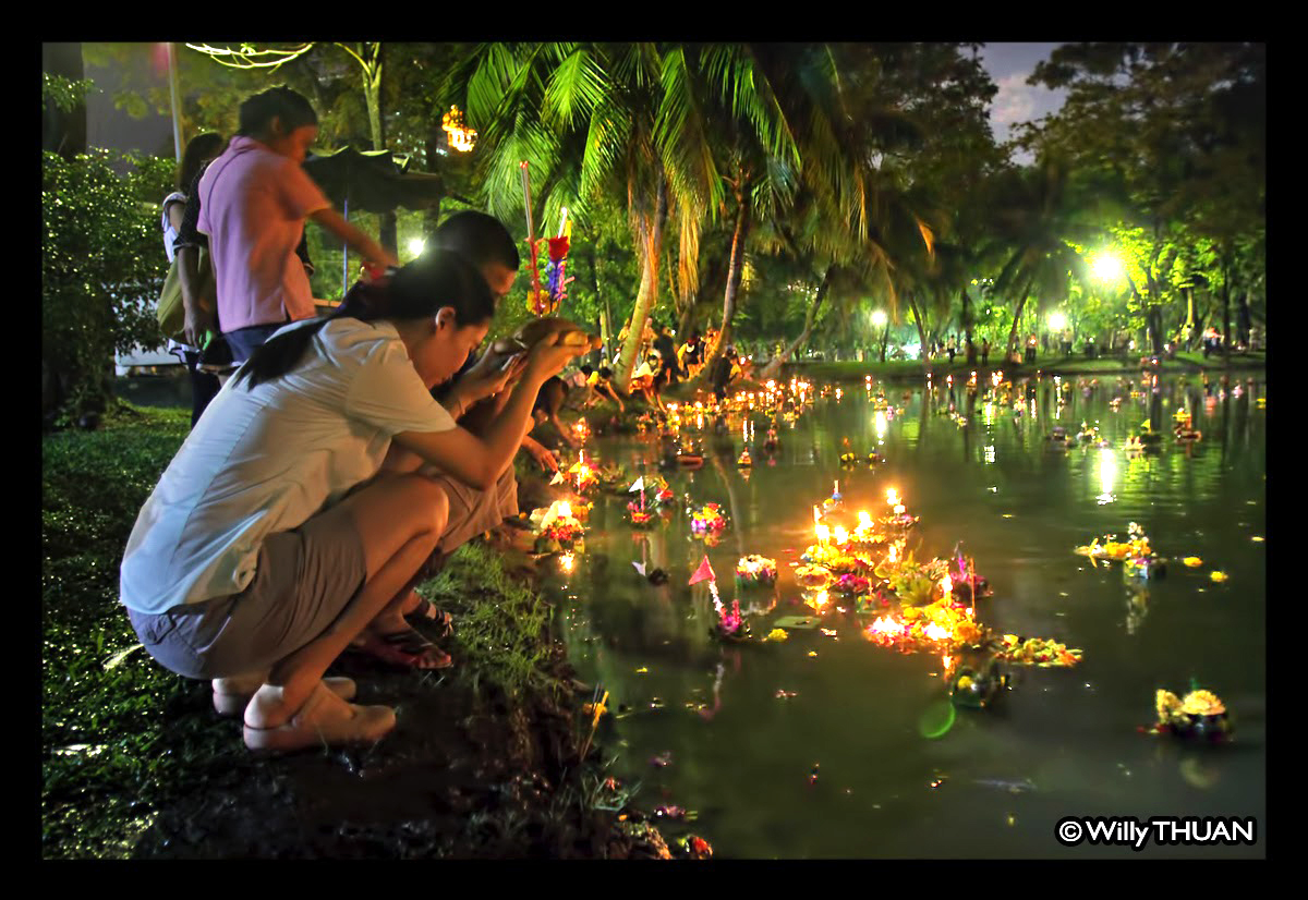 Loy Krathong in Phuket –  November 2016